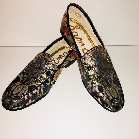 8f2213f8ffdee9 SAM EDELMAN Sz 8.5 Loraine Brocade Loafer Shoes. M 5af2705ddaa8f62bcc27681d